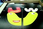 Kiwabo: Drucke für Kinderwagengaragen UVW