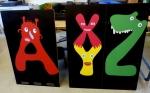 Kiwabo: Drucke für Kinderwagengaragen AXYZ